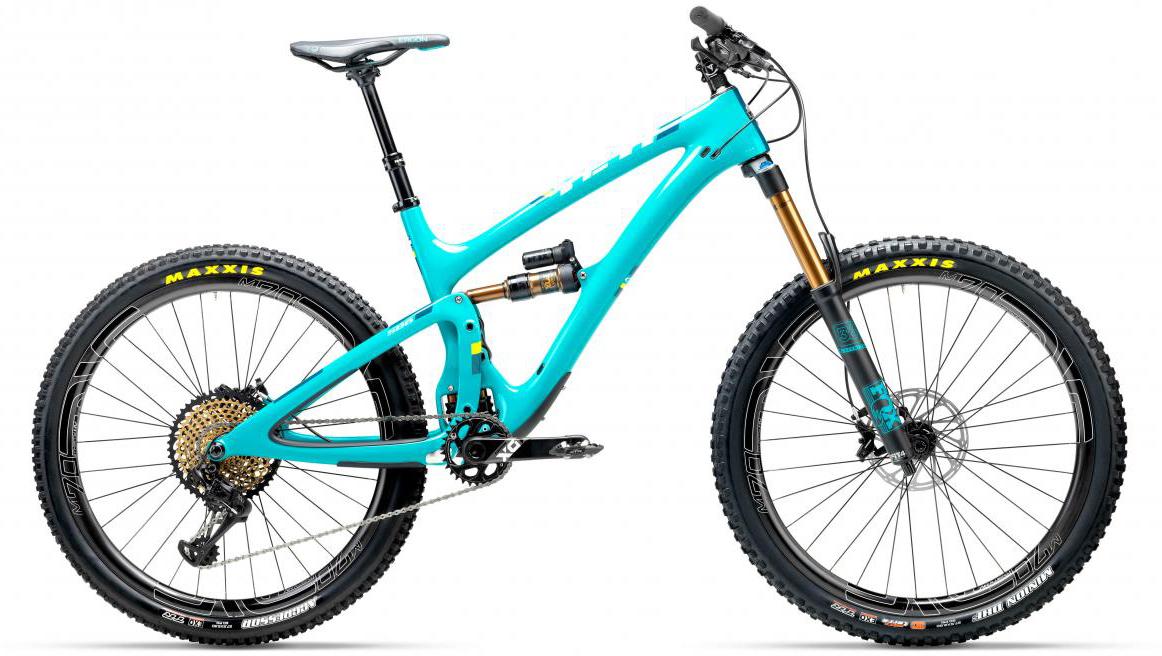 Велосипед горный Yeti SB6T XX1 Eagle 2017, цвет: голубой, рама 16, колесо 27,5280828