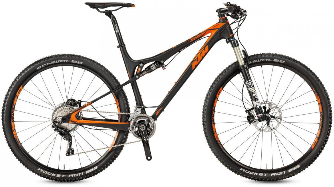 Велосипед горный KTM Scarp 29 Master 22 2017, цвет: черный, рама 17, колесо 29281393
