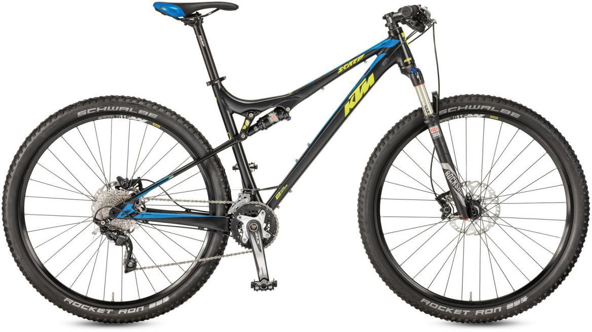 Велосипед горный KTM Scarp 294 30 2017, цвет: черный, рама 21, колесо 29281407