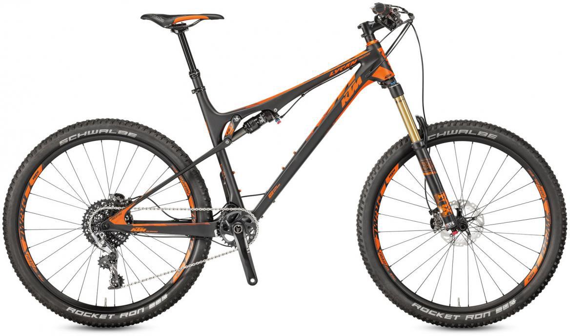 Велосипед горный KTM Lycan 27 Prestige 11 2017, цвет: черный, рама 17, колесо 27,5281408