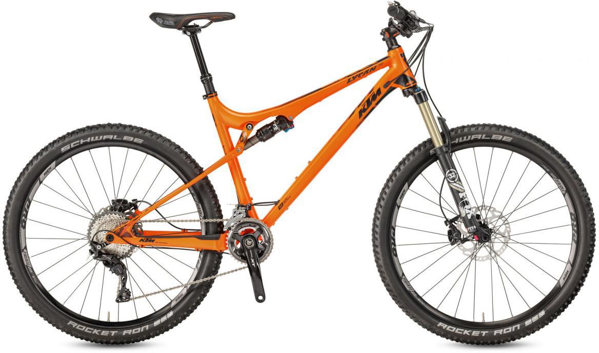 Велосипед горный KTM Lycan 272 22 2017, цвет: оранжевый, рама 19, колесо 27,5281425