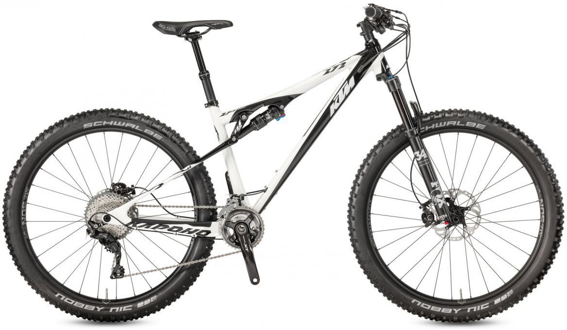 Велосипед горный KTM Kapoho 272 2017, цвет: белый, рама 19, колесо 27,5281441