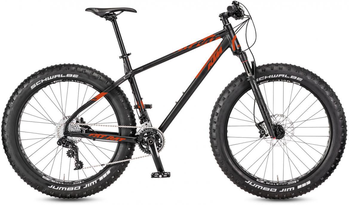 Велосипед горный KTM Fat Rat 2017, цвет: черный, рама 21, колесо 26281449