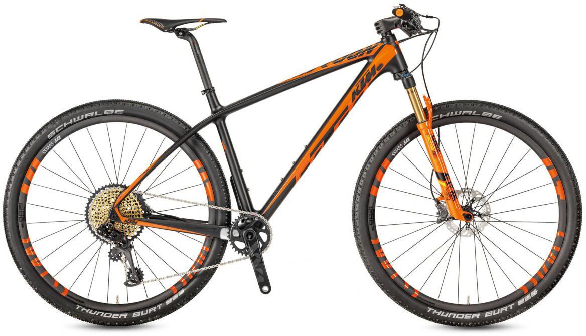 Велосипед горный KTM Myroon 29 Sonic 12 2017, цвет: черный, рама 19, колесо 29281454
