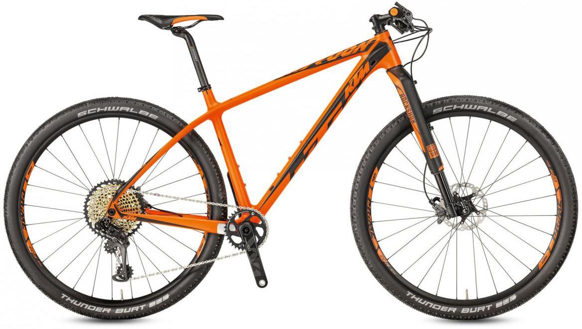 Велосипед горный KTM Myroon 29 Prestige 12 2017, цвет: оранжевый, рама 15, колесо 29281456