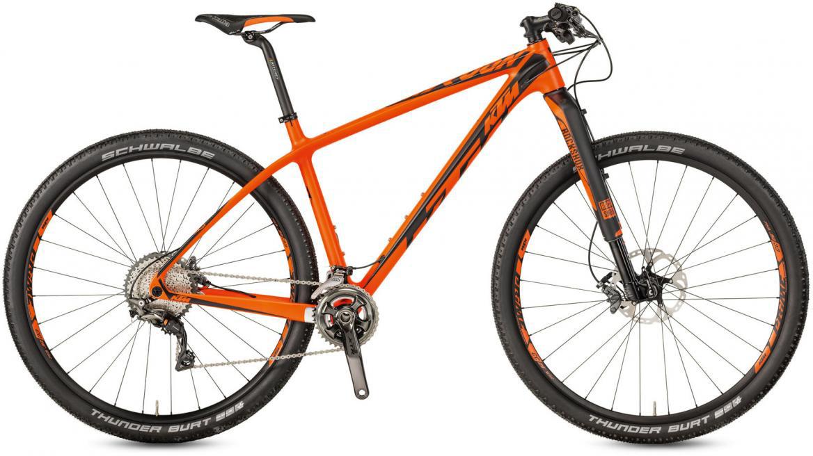 Велосипед горный KTM Myroon 29 Prestige 22 2017, цвет: оранжевый, рама 17, колесо 29281460