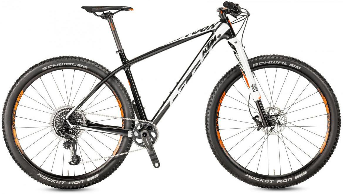 Велосипед горный KTM Myroon 29 Prime 22 2017, цвет: черный, рама 21, колесо 29281469