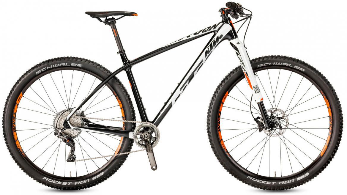 Велосипед горный KTM Myroon 29 Prime 11 2017, цвет: черный, рама 19, колесо 29281471
