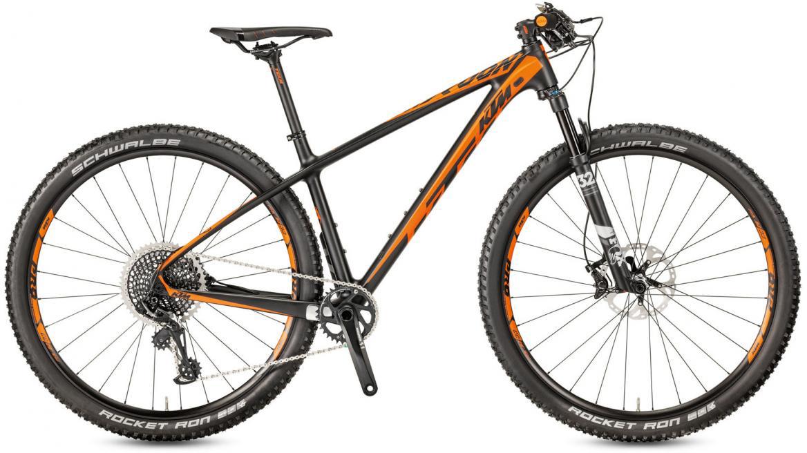 Велосипед горный KTM Myroon 29 Master 12 2017, цвет: черный, рама 21, колесо 29281479