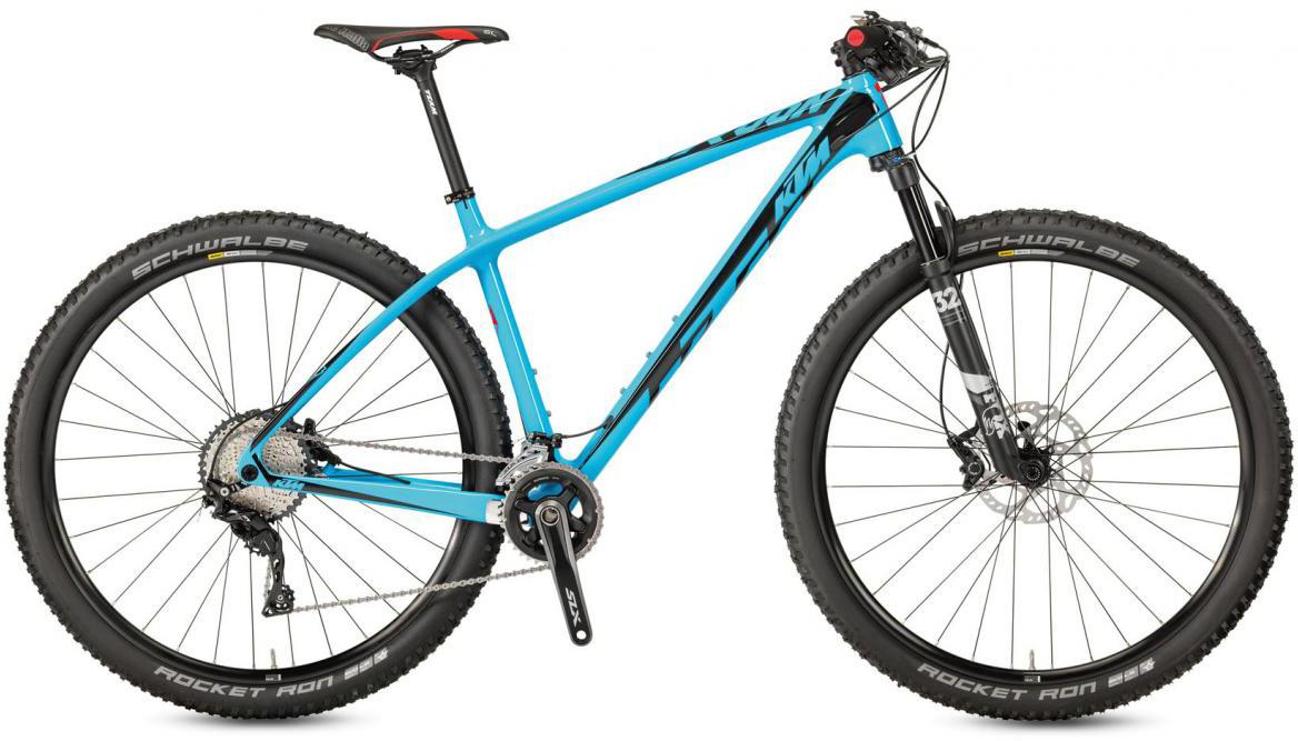 Велосипед горный KTM Myroon 29 Elite 22 2017, цвет: синий, рама 21, колесо 29281491