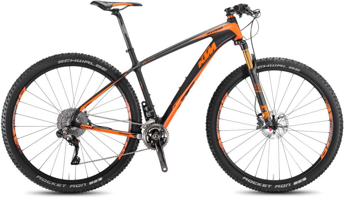 Велосипед горный KTM Myroon 29 Prestige 22 Di2 2017, цвет: черный, рама 21, колесо 29281494