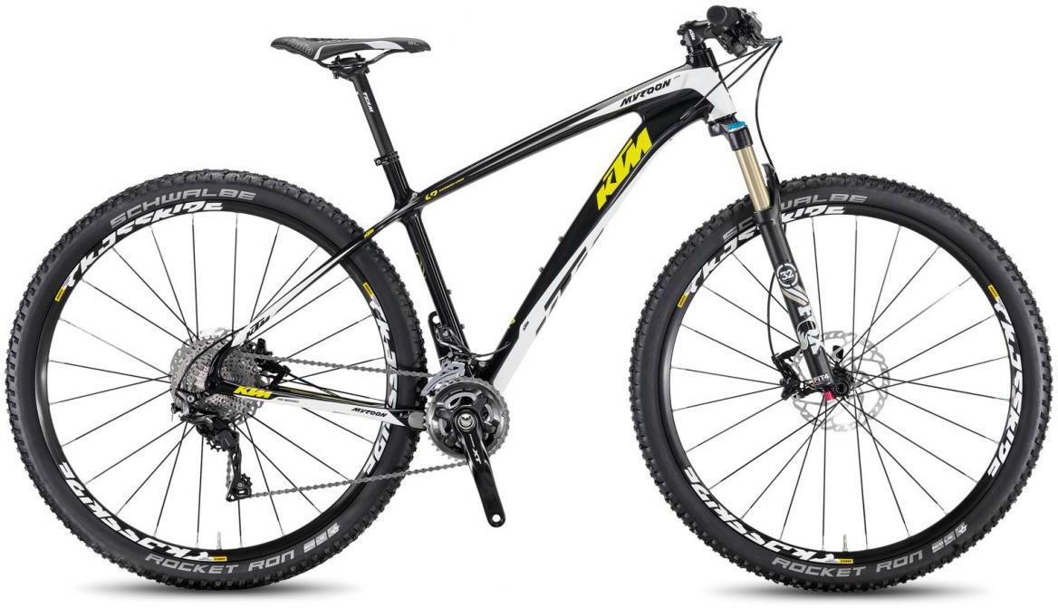 Велосипед горный KTM Myroon 29 Elite 22 Non Boost 2017, цвет: черный, рама 17, колесо 29281498