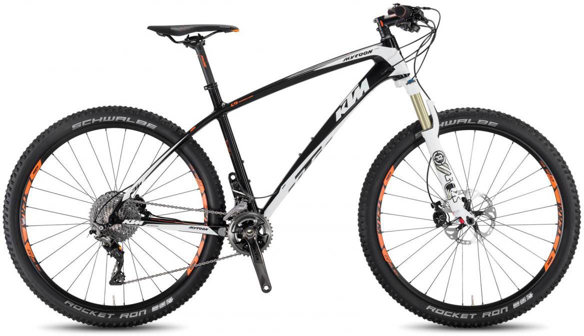 Велосипед горный KTM Myroon 27 Prime 22 2017, цвет: черный, рама 19, колесо 27,5281515