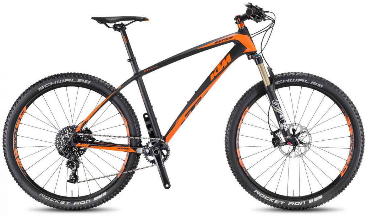 Велосипед горный KTM Myroon 27 Master 11 2017, цвет: черный, рама 15, колесо 27,5281517