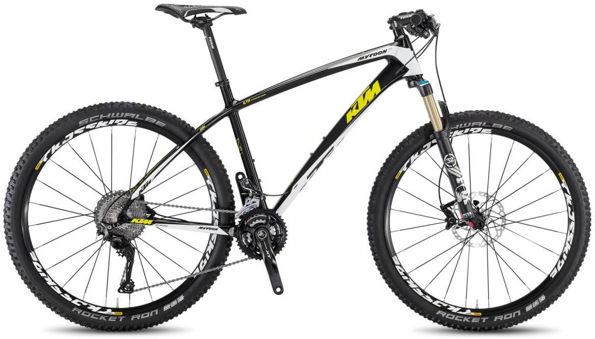 Велосипед горный KTM Myroon 27 Elite 33 2017, цвет: черный, рама 21, колесо 27,5281524