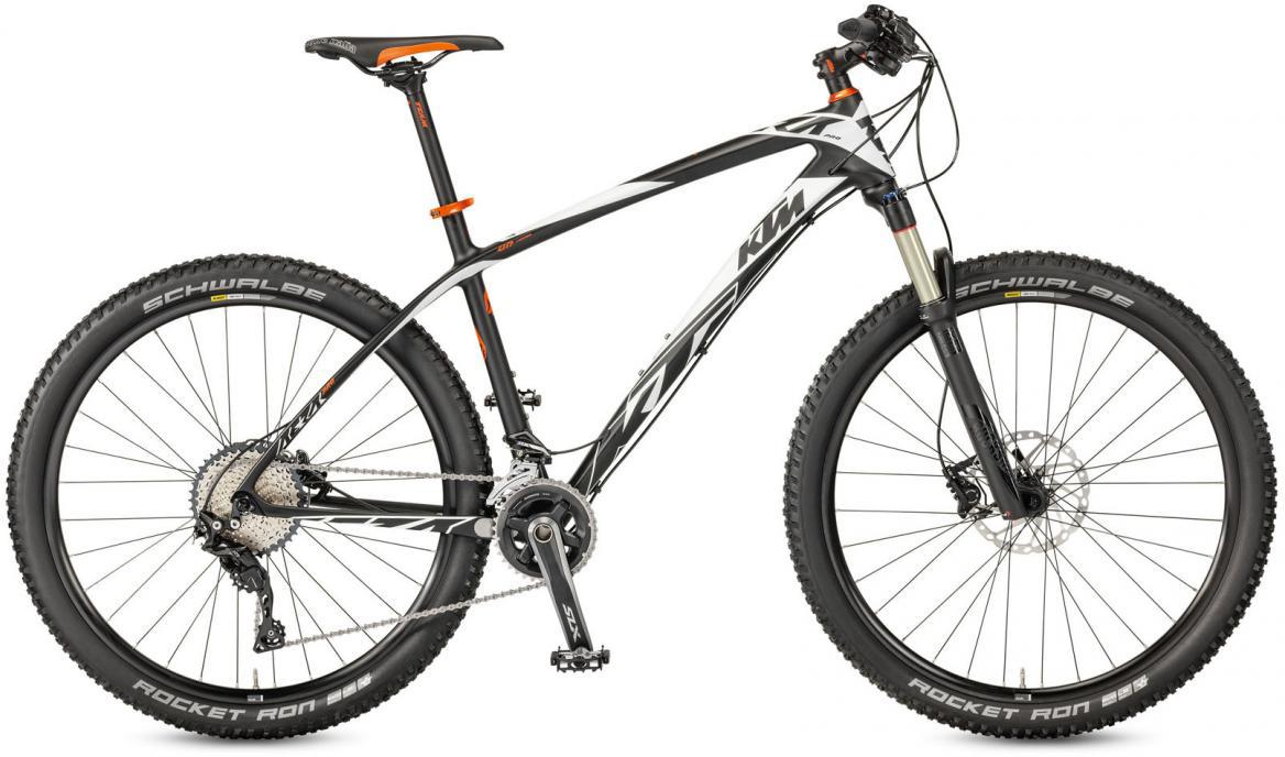 Велосипед горный KTM Aera 27 Pro 22 2017, цвет: черный, рама 19, колесо 27,5281527