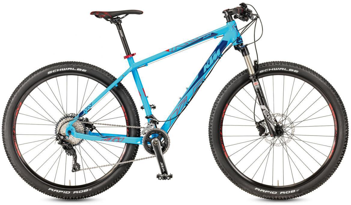 Велосипед горный KTM Ultra Ride 29 2017, цвет: синий, рама 22,5, колесо 29281546