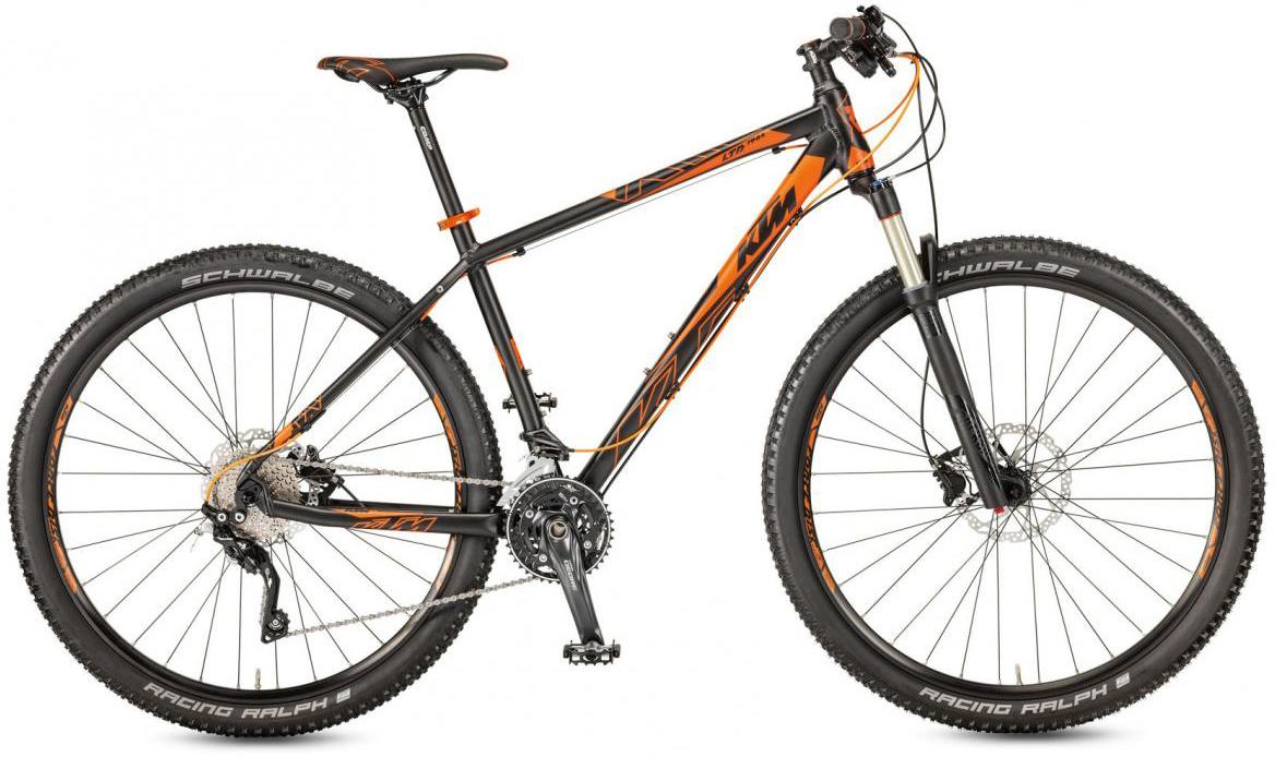 Велосипед горный KTM Ultra 1964 LTD 29 20 2017, цвет: черный, рама 22,5, колесо 29281550