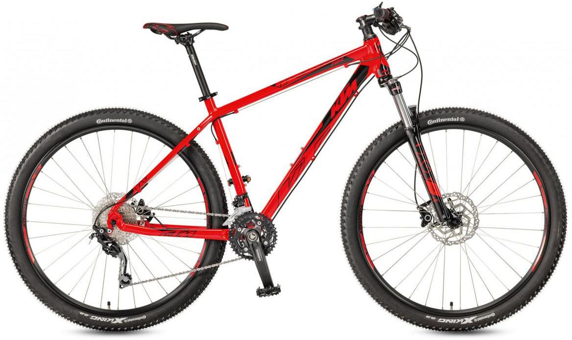 Велосипед горный KTM Ultra Fire 29 2017, цвет: красный, рама 21, колесо 29281563
