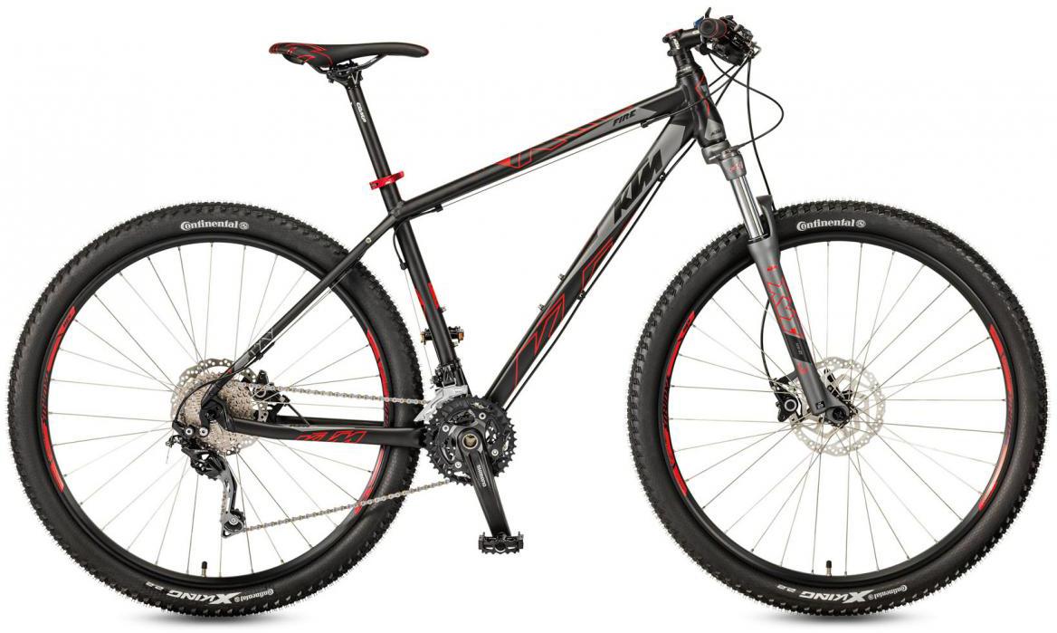 Велосипед горный KTM Ultra Fire 29 2017, цвет: черный, рама 17, колесо 29281564