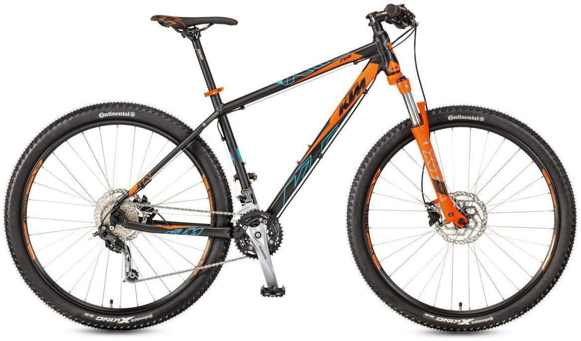 Велосипед горный KTM Ultra Fun 29 2017, цвет: черный, рама 21, колесо 29281569