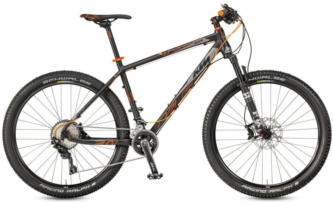 Велосипед горный KTM Ultra Race 27 2017, цвет: черный, рама 19, колесо 27,5281575