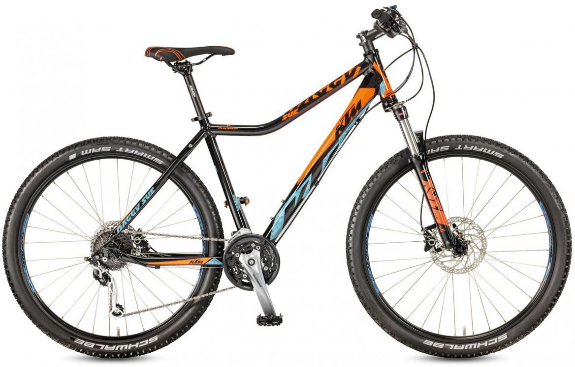 Велосипед горный KTM Baggy Sue 27.27 2017, цвет: черный, рама 18,5, колесо 27,5281625