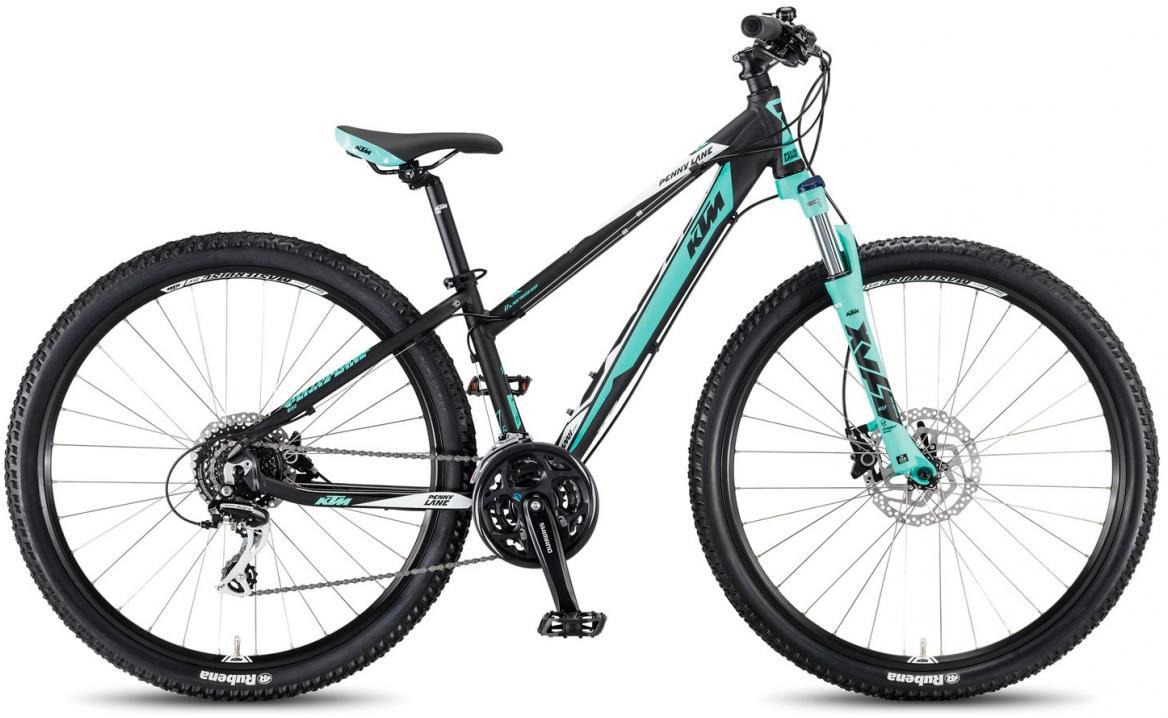 Велосипед горный KTM Penny Lane 27.24 Disc H 2017, цвет: черный, рама 18,5, колесо 27,5281628