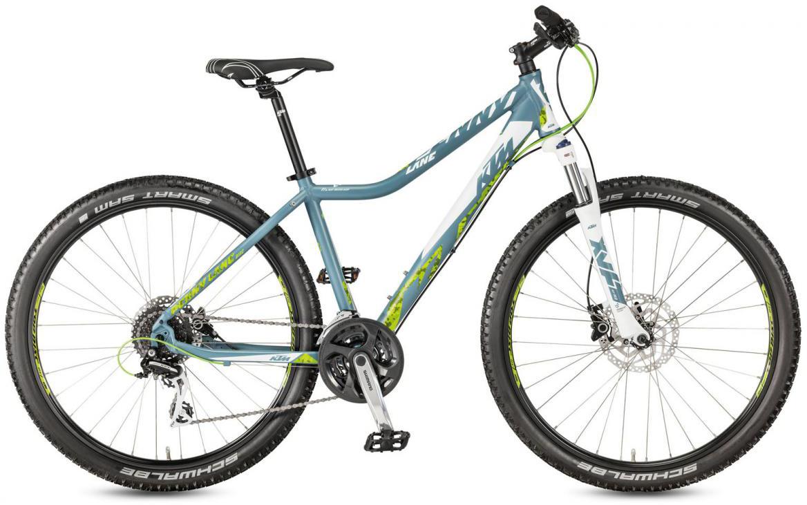 Велосипед горный KTM Penny Lane 27.24 Disc H SD 2017, цвет: синий, рама 16,5, колесо 27,5281636