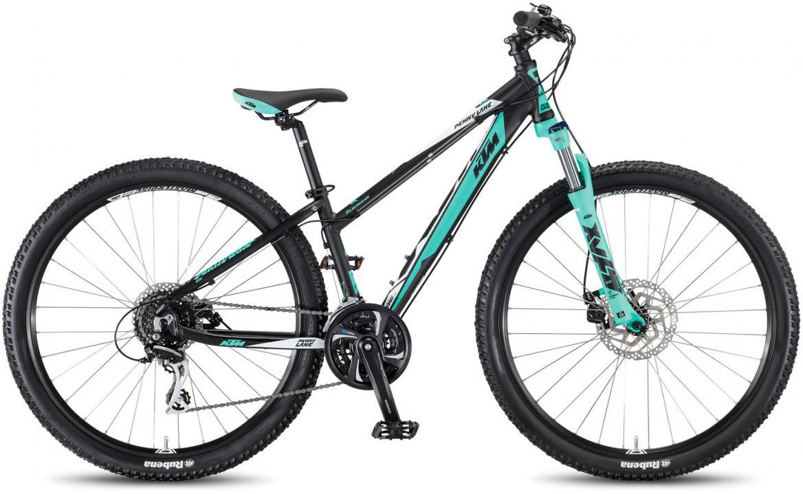 Велосипед горный KTM Penny Lane 27.24 Disc M 2017, цвет: черный, рама 18,5, колесо 27,5281640