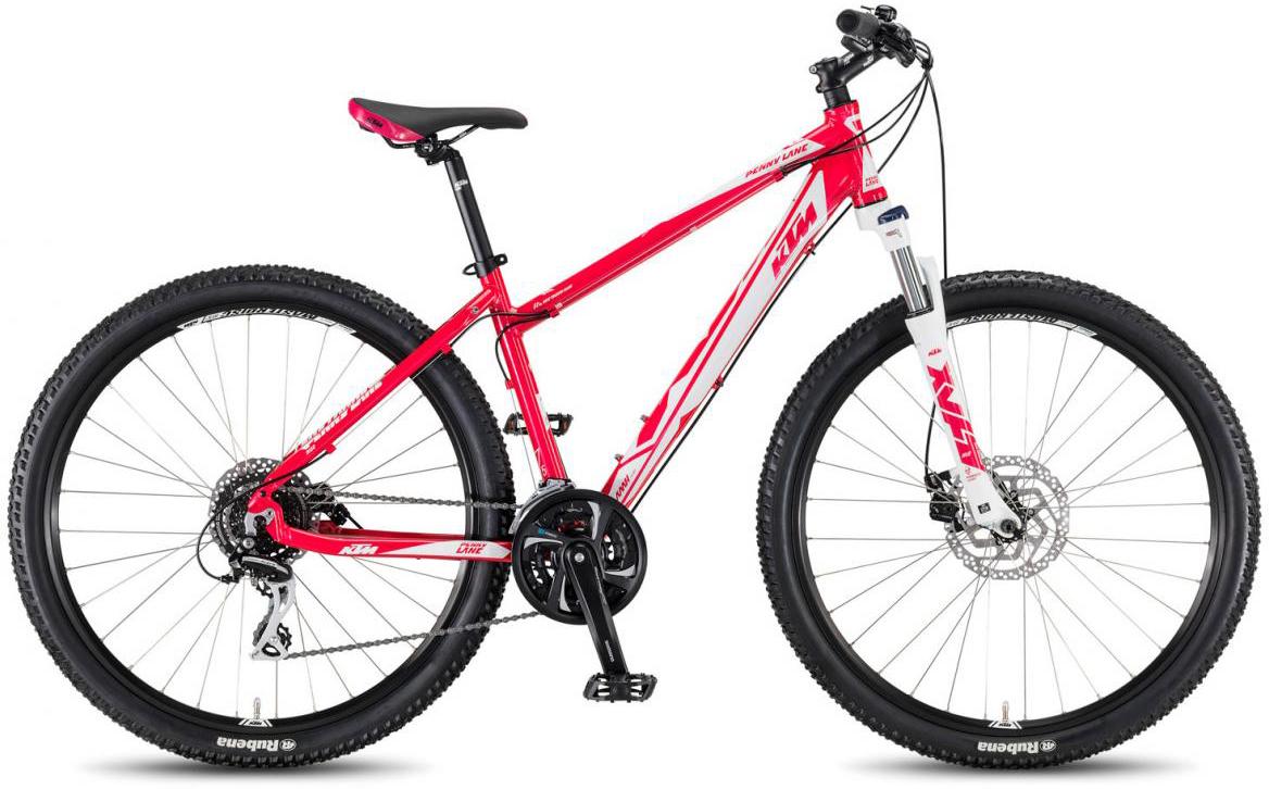 Велосипед горный KTM Penny Lane 27.24 Disc M 2017, цвет: розовый, рама 16,5, колесо 27,5281642