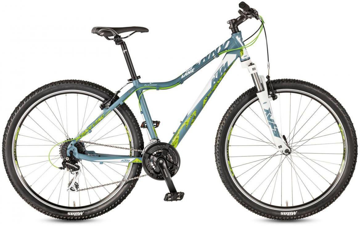 Велосипед горный KTM Penny Lane 27.24 Classic SD 2017, цвет: синий, рама 18,5, колесо 27,5281661