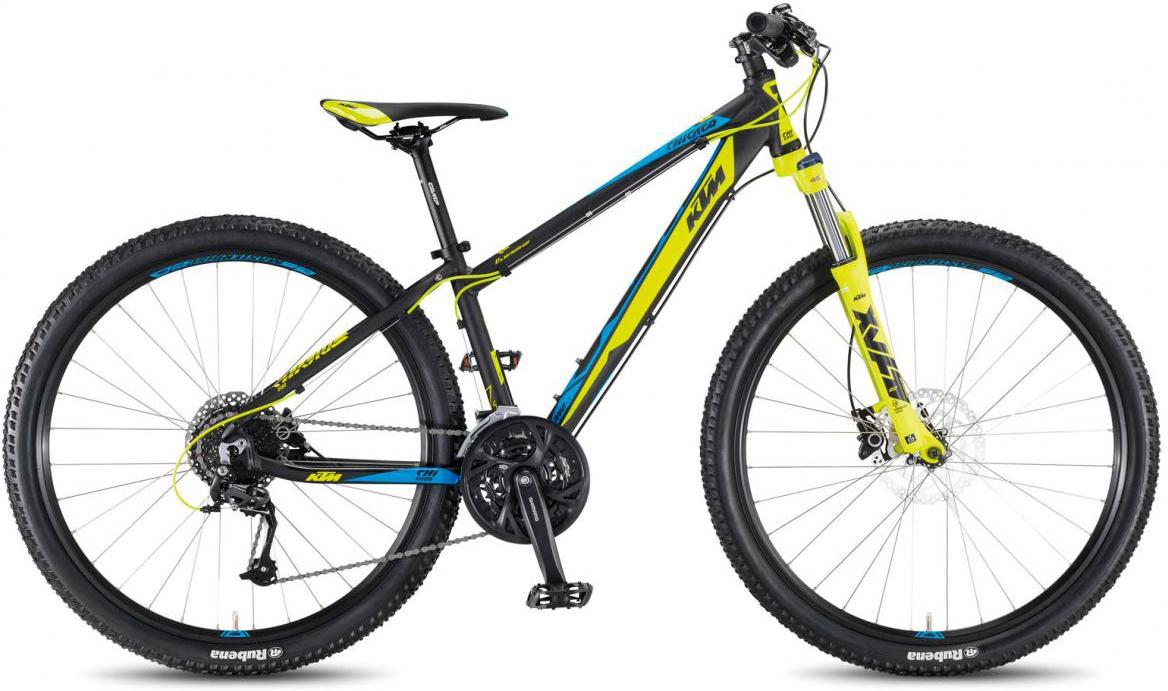 Велосипед горный KTM Chicago 27.24 Disc H 2017, цвет: черный, рама 19, колесо 27,5281696
