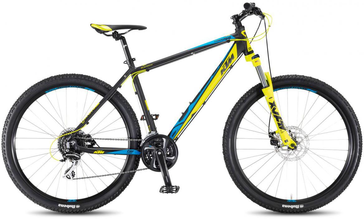 Велосипед горный KTM Chicago 27.24 Disc M 2017, цвет: черный, рама 17, колесо 27,5281719