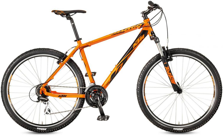 Велосипед горный KTM Chicago 27.24 Classic RC 2017, цвет: оранжевый, рама 14, колесо 27,5281746