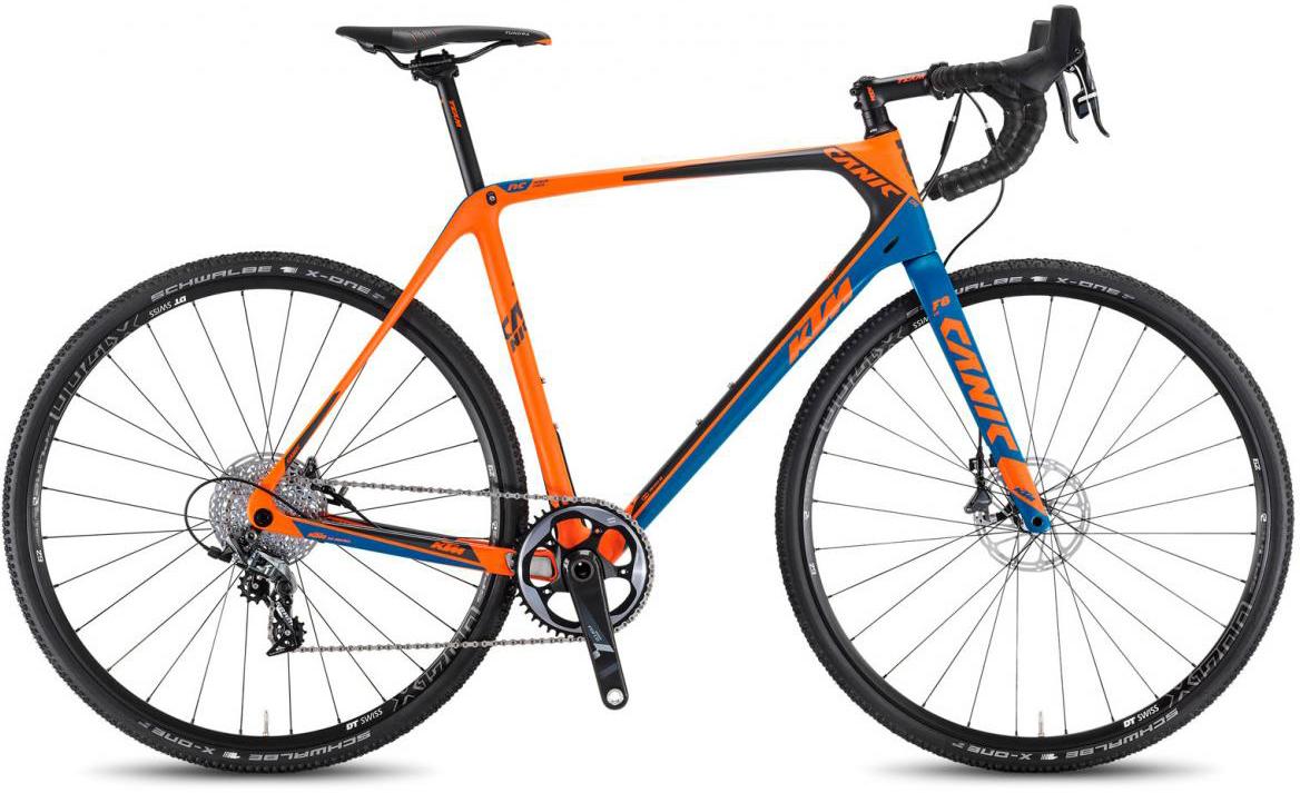 Велосипед шоссейный KTM Canic CXC 11 2017, цвет: оранжевый, рама 19,5, колесо 28281758