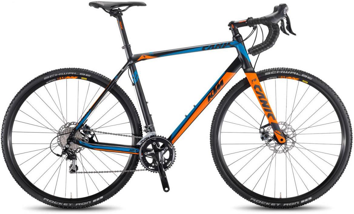Велосипед шоссейный KTM Canic CXA 2017, цвет: черный, рама 19,5, колесо 28281768