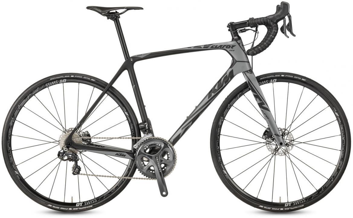 Велосипед шоссейный KTM Revelator SKY Di2 Black 2017, цвет: черный, рама 21,5, колесо 28281775
