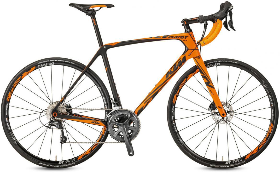 Велосипед шоссейный KTM Revelator SKY Orange 2017, цвет: оранжевый, рама 23, колесо 28281782