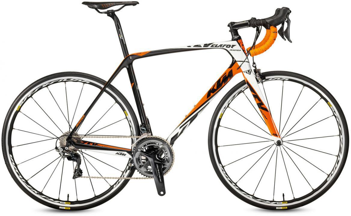 Велосипед шоссейный KTM Revelator Master 2017, цвет: черный, рама 22,5, колесо 28281806