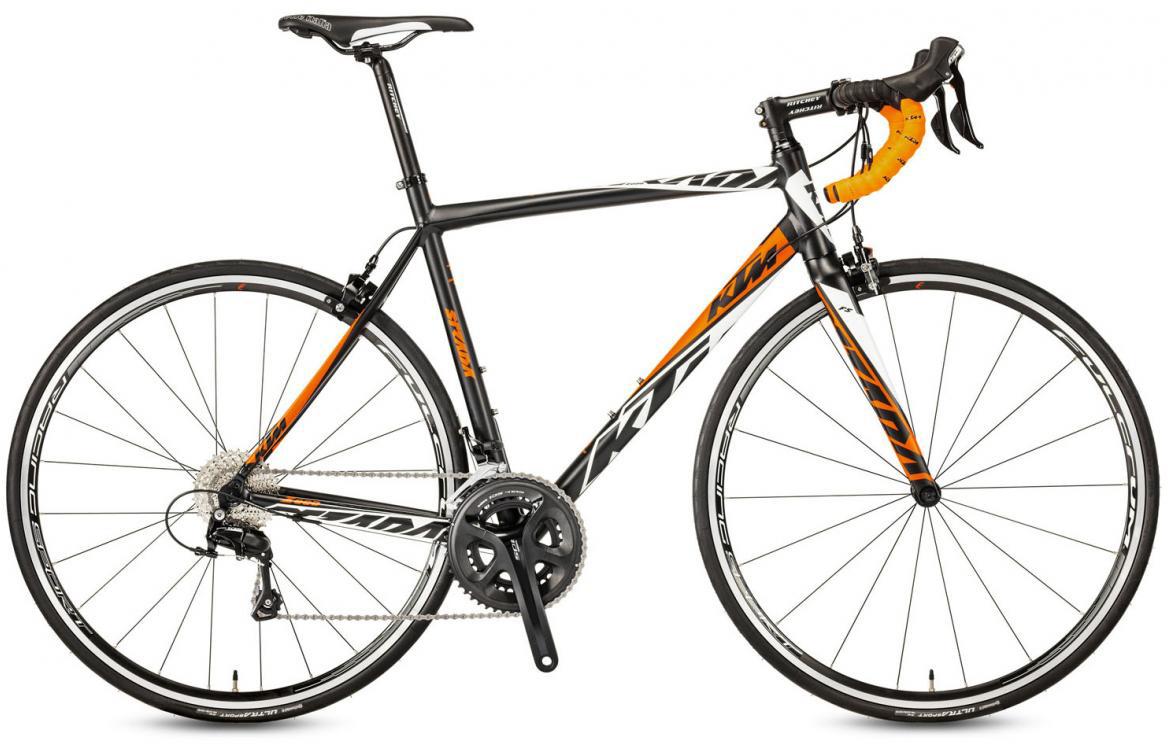 Велосипед шоссейный KTM Strada 2000 2017, цвет: черный, рама 21, колесо 28281844