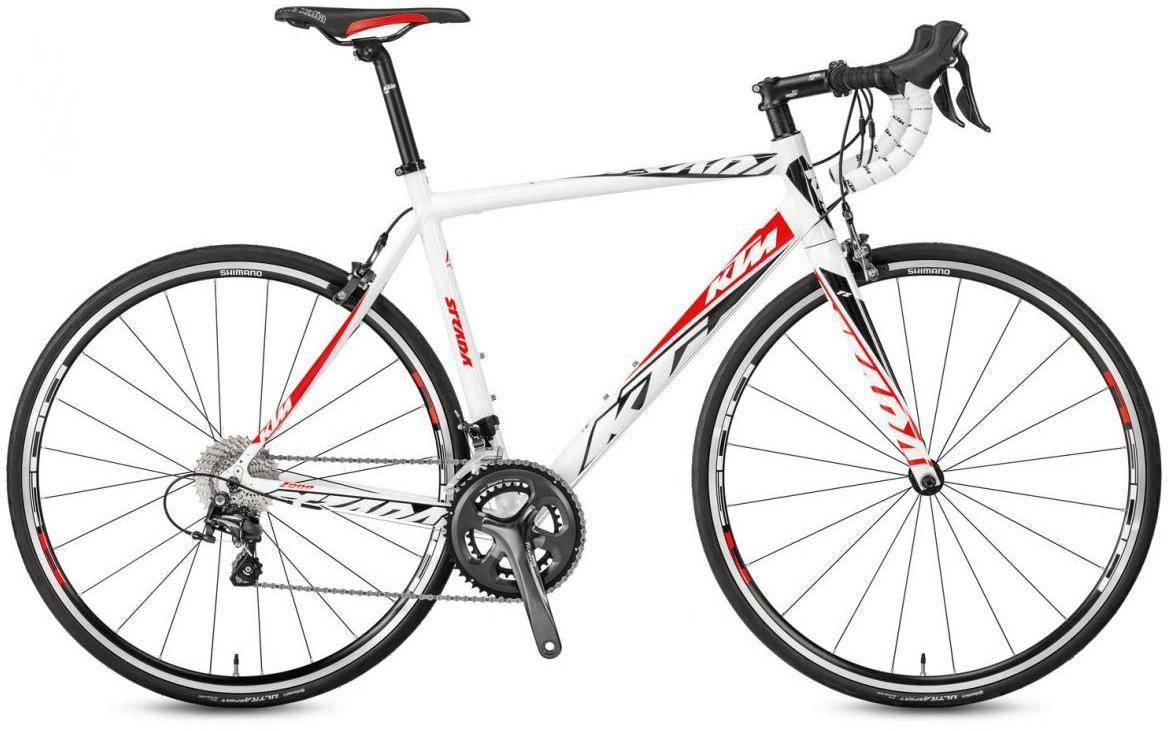 Велосипед шоссейный KTM Strada 1000 2017, цвет: белый, рама 19,5, колесо 28281846