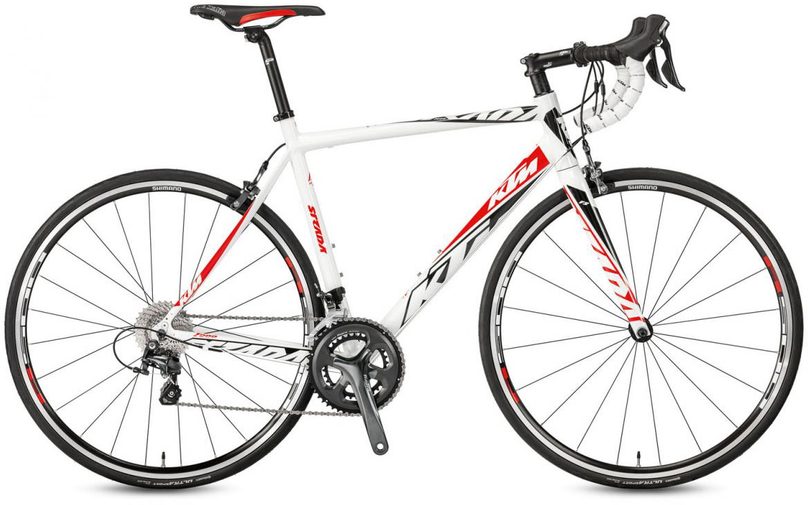 Велосипед шоссейный KTM Strada 1000 2017, цвет: белый, рама 21,5, колесо 28281848