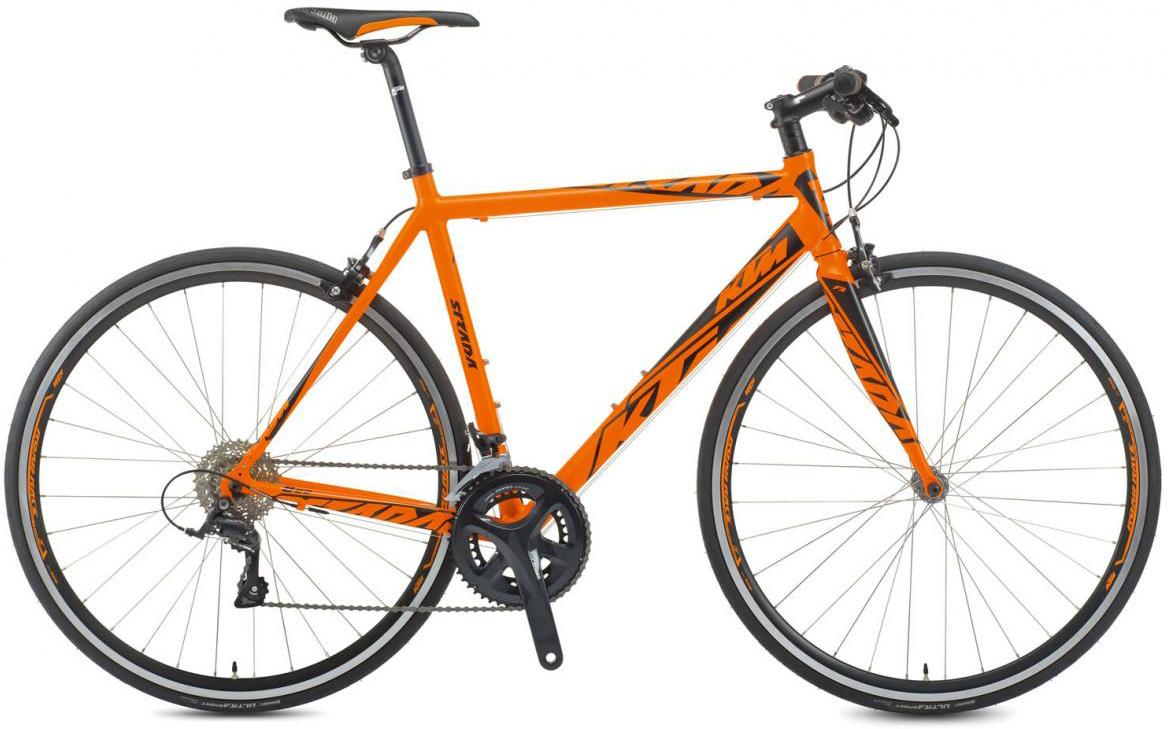 Велосипед шоссейный KTM Strada 800 2017, цвет: оранжевый, рама 21,5, колесо 28281853
