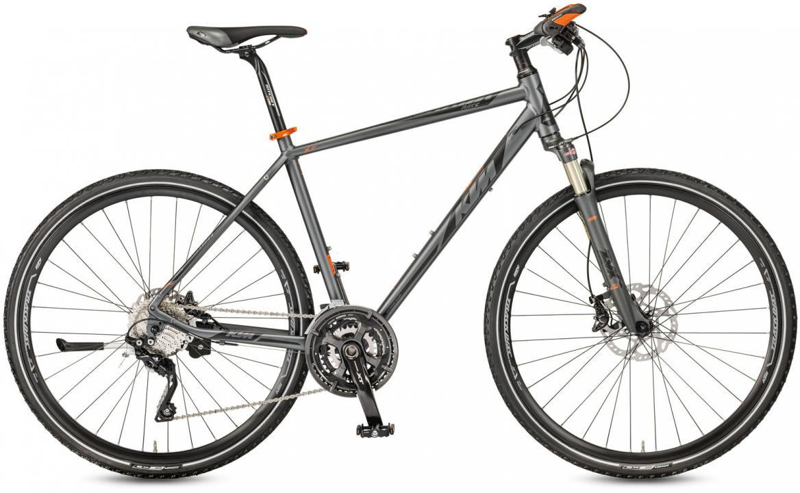 Велосипед городской KTM Legarda Race 2017, цвет: серый, рама 18, колесо 28281864