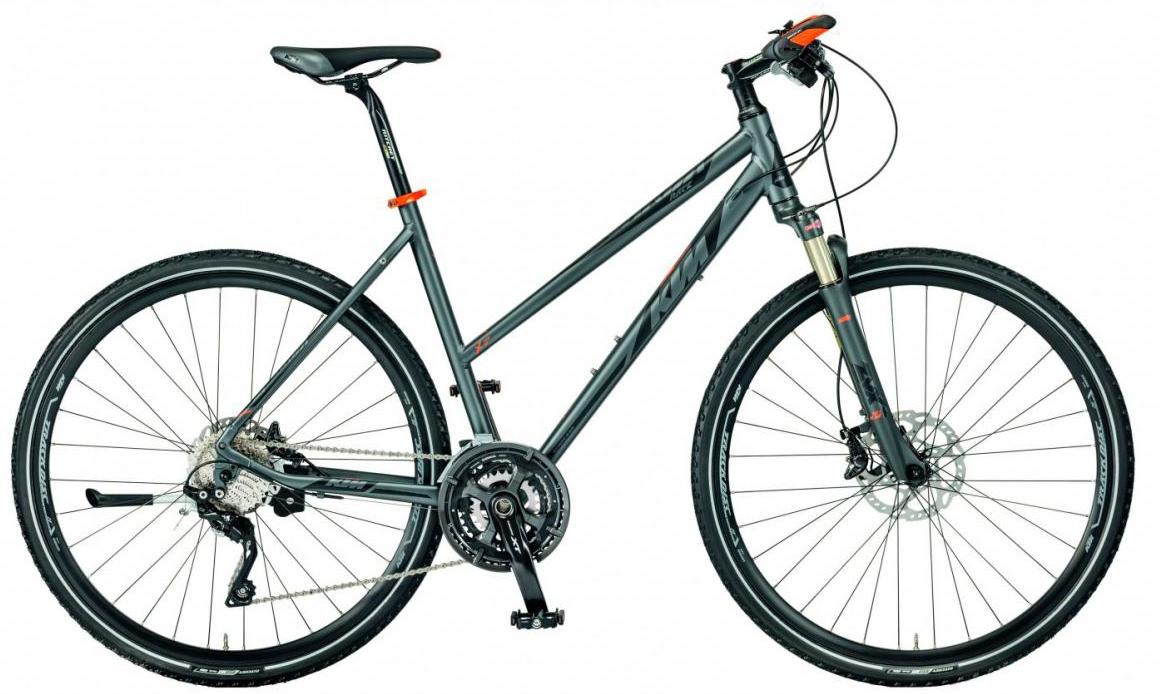 Велосипед городской KTM Legarda Race Trapez 2017, цвет: серый, рама 20, колесо 28281869