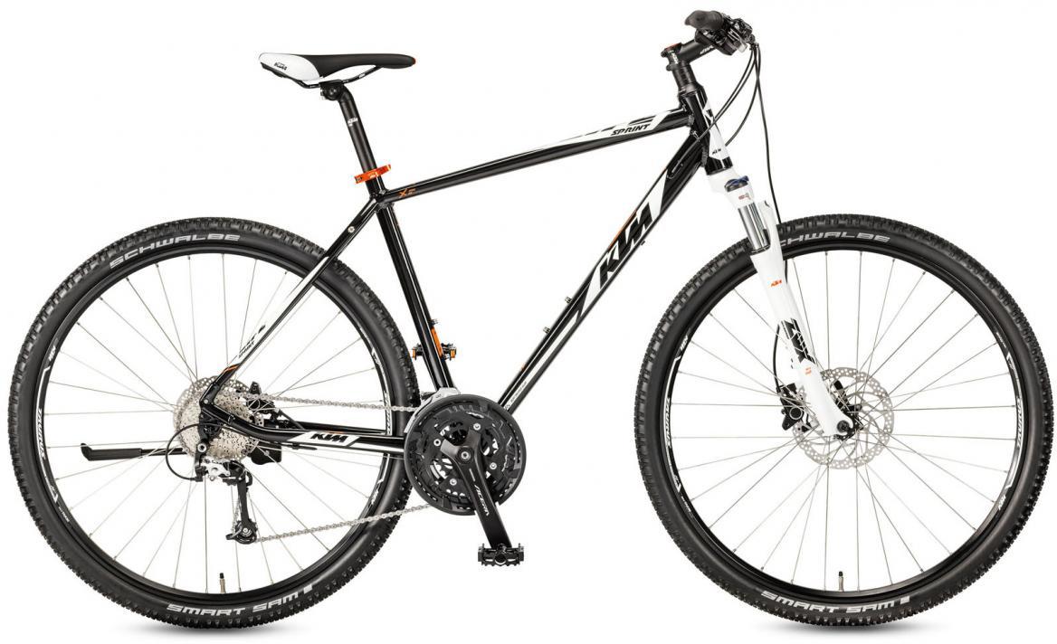 Велосипед городской KTM Life Sprint 2017, цвет: черный, рама 18, колесо 28281889
