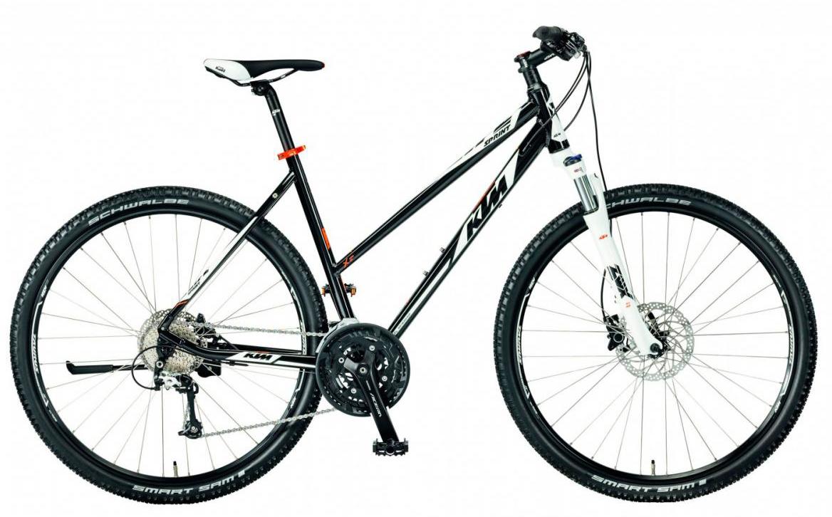 Велосипед городской KTM Life Sprint Trapez 2017, цвет: черный, рама 18, колесо 28281894