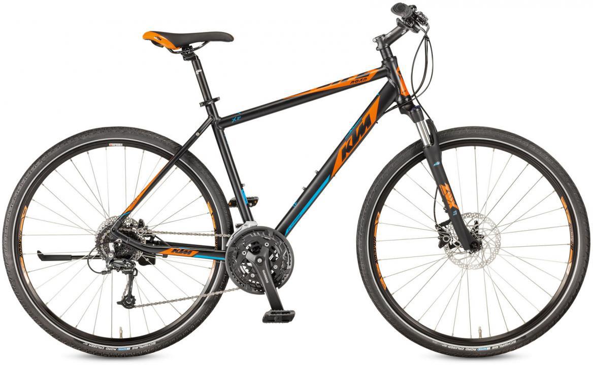 Велосипед городской KTM Life Road Disc-H 2017, цвет: черный, рама 23,5, колесо 28281899