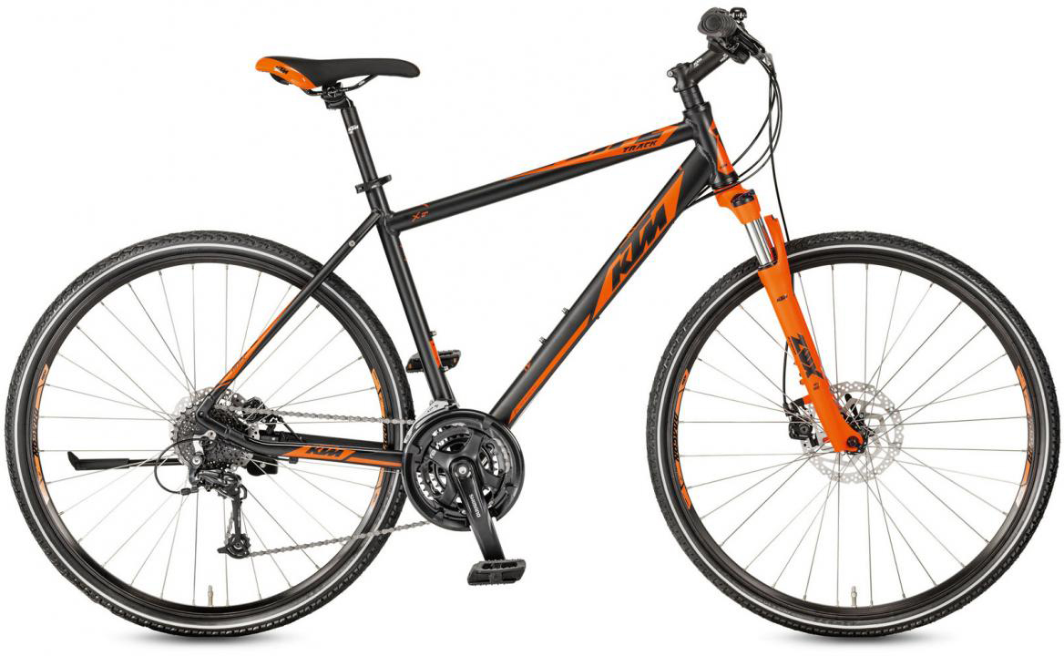 Велосипед городской KTM Life Track Disc-M 2017, цвет: черный, рама 18, колесо 28281910